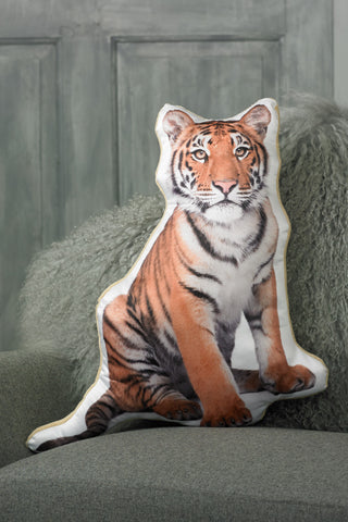 Adorable Shaped Tiger Cushion