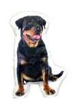 Adorable Rottweiler Shaped Cushion Dog Cushions - Adorable Cushions