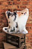Adorable Long Haired Chihuahua Shaped Cushion Dog Cushions - Adorable Cushions