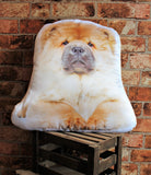 Adorable Chow Chow Shaped Cushion Dog Cushions - Adorable Cushions