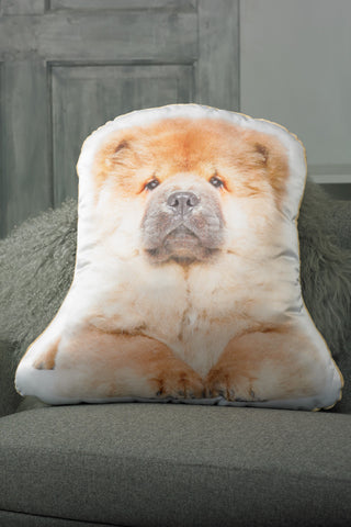 Adorable Chow Chow Shaped Cushion