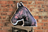 Adorable Black Horse Shaped Cushion Other Animal Cushions - Adorable Cushions