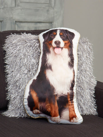 Adorable Bernese Mountain Dog Shaped Cushion Dog Cushions - Adorable Cushions