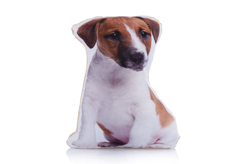 Adorable Jack Russell Shaped Midi Cushion Dog Midi - Adorable Cushions