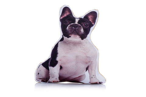 Adorable French Bulldog Shaped Midi Cushion Dog Midi - Adorable Cushions