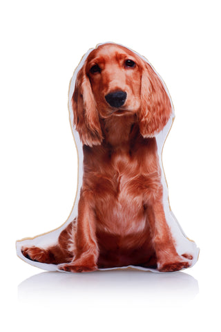 Adorable Gold Cocker Spaniel Shaped Midi Cushion Dog Midi - Adorable Cushions