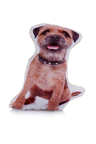 Adorable Border Terrier Shaped Midi Cushion Dog Midi - Adorable Cushions