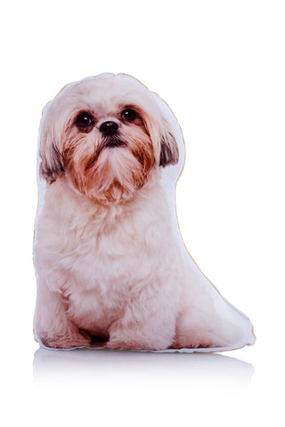 Adorable Shih Tzu Shaped Midi Cushion Dog Midi - Adorable Cushions