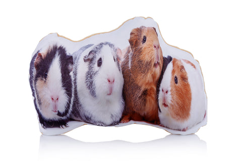 Adorable Guinea Pig Shaped Midi Cushion Other Animal Midi Cushions - Adorable Cushions