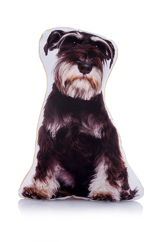 Adorable Schnauzer Shaped Midi Cushion Dog Midi - Adorable Cushions