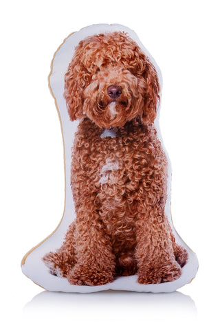 Adorable Cockapoo Shaped Midi Cushion Dog Midi - Adorable Cushions