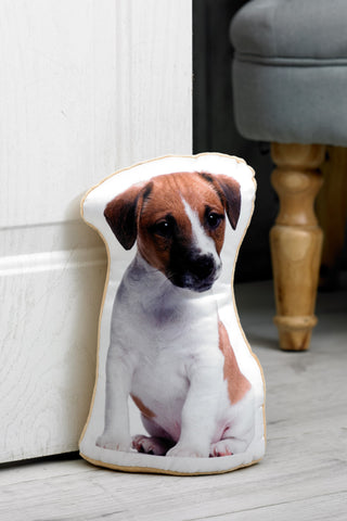 Adorable Jack Russell Shaped Doorstop