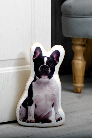 Adorable French Bulldog Shaped Doorstop