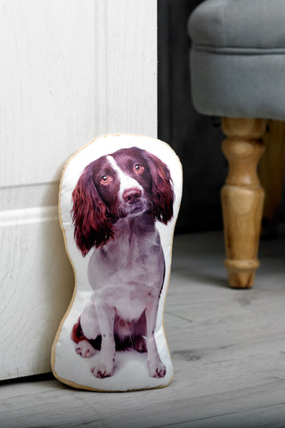 Adorable Springer Spaniel Doorstop Dog Doorstop - Adorable Cushions