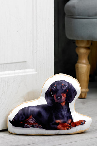 Adorable Dachshund Shaped Doorstop Dog Doorstop - Adorable Cushions