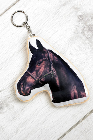 Adorable Black Horse Keyring Other Animal Keyrings - Adorable Cushions