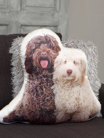 Adorable Labradoodle Shaped Cushion Dog Cushions - Adorable Cushions