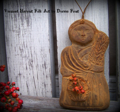 The Farmers Wife Blackened Beeswax ~ Cupboard Hanger
