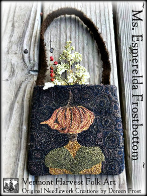 Esmerelda Frostbottom Punch Needle Embroidery Pattern