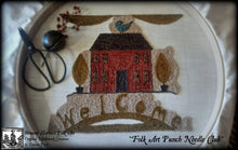 Folk Art Punch Needle, Embroidery Club by Doreen Frost, Vermont Harvest Folk Art