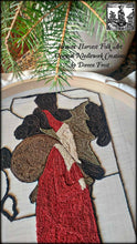 Merry Olde St. Nicholas Primitive Punch Needle Embroidery Pattern