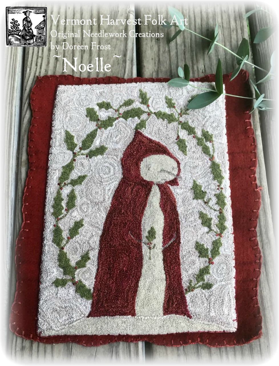 Noelle Winter Primitive Punch Needle Pattern