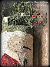 Olde Winter Woodstock Punch Needle Embroidery Pattern