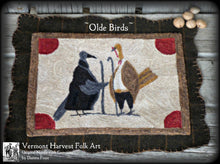 ~ OLDE BIRDS PUNCH NEEDLE PATTERN OPTIONS~