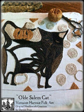 Olde Salem Cat & Jax Double Punch Needle Embroidery Pattern