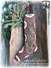 Olde Sturbridge Stocking FINISHED PIECE