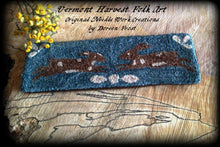 Olde Hares~  Primitive Punch Needle Embroidery Pattern