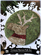 Randolph The Stag Punch Needle Embroidery Pattern