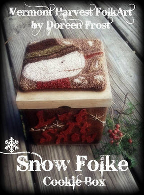 ~Snow Folke Cookie Box~