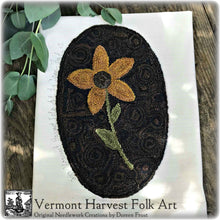 Vermont Sunflowers ~ Punch Needle Pattern
