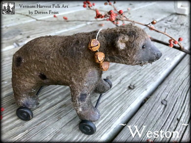 Olde Pull Toy ~ WESTON