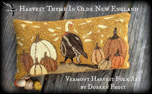 Harvest Thyme In Olde New England ~  Primitive Punch Needle Embroidery Pattern