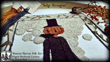 Judge Rivington Punch Needle Embroidery Pattern