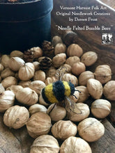Needle Felted Bumble Bee's