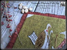Olde Birds In Autumn Large Table Mat~ Finished Piece