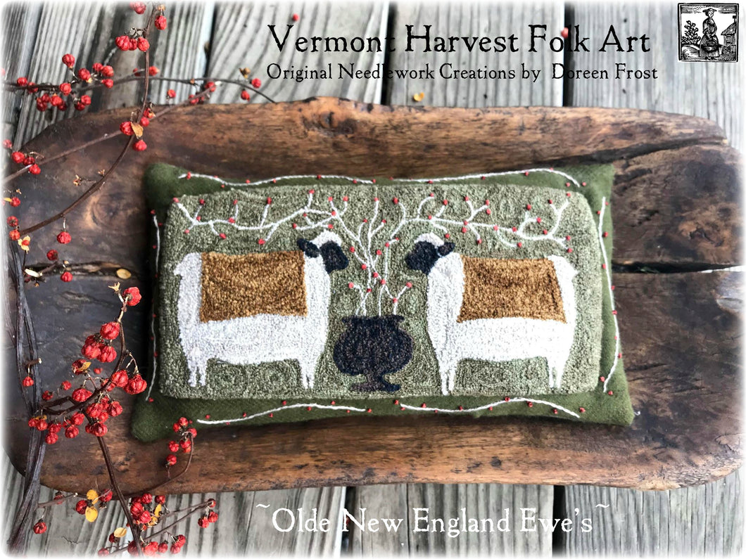 Olde New England Ewes's Finsihed Piece