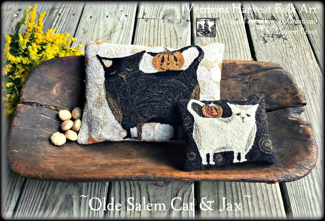 Olde Salem Cat & Jax All Hallows' Eve Pillows