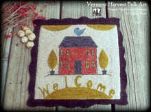 WELCOME HOME Punch Needle Pattern Options