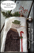 Winter In Woodstock Punch Needle Embroidery Pattern