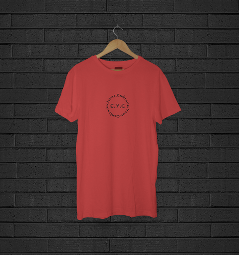 Short Sleeve T-Shirt: E.Y.C Classic (Red)