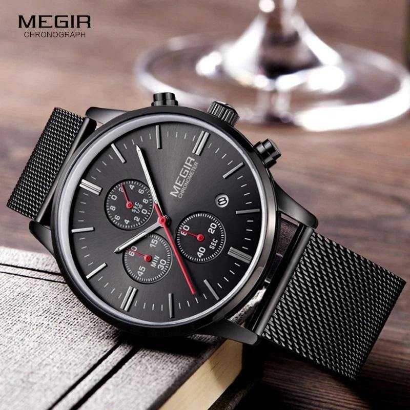 Megir SW2011 Chronograph - Statement Watches
