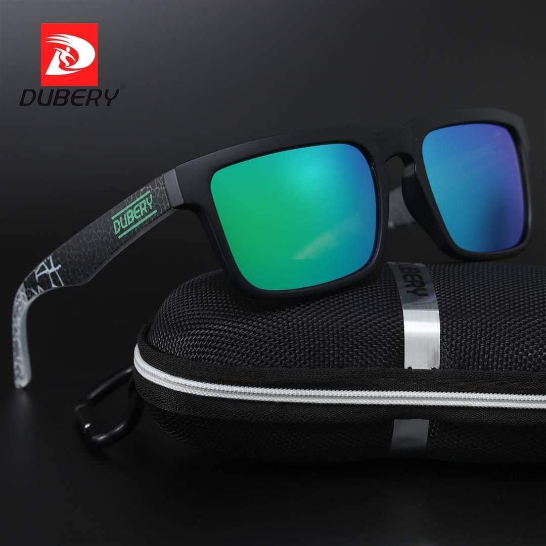 Dubery D710 Polarized Black/Green - Statement Watches
