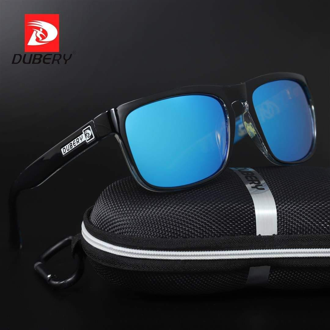 Dubery D730 Polarized Black/Blue - Statement Watches