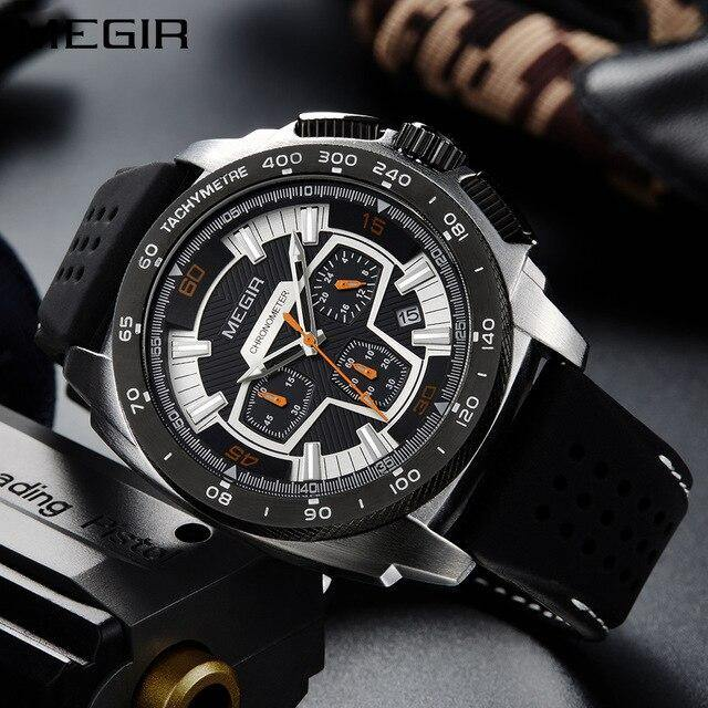 Megir SW2056 Chronograph - Statement Watches