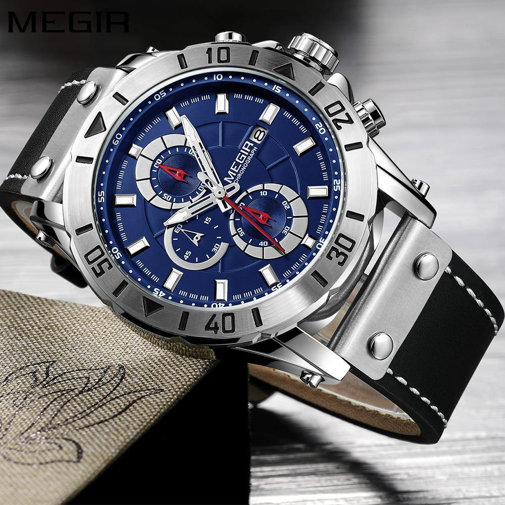 Megir SW2081 Chronograph - Statement Watches