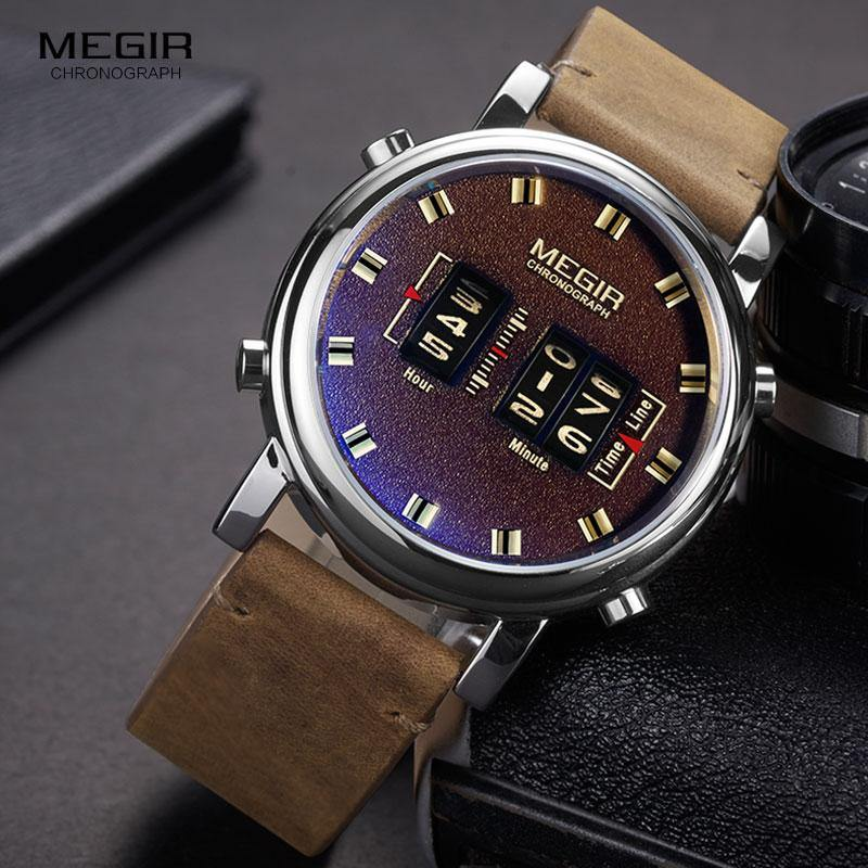 Megir SW2137 Quartz - Statement Watches